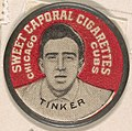 Tinker, Chicago Cubs (red), from the Domino Discs series (PX7), issued by Kinney Brothers MET DP869090.jpg