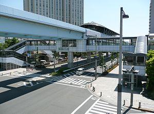 Daiba Station (Tokyo) - Image: Tokyo Daiba Sta