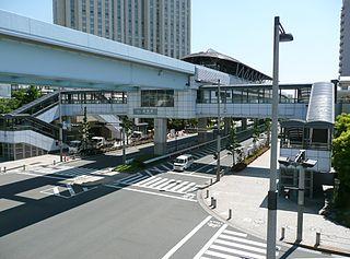 Daiba Station (Tokyo) Railway station in Tokyo, Japan