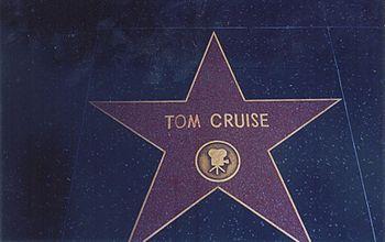 Tom Cruise Hollywood Walk of Fame