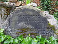 Tombstone in Jewish Cemetery - Eastern Berlin - Germany.jpg