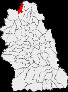 Tomești, Hunedoara Commune in Hunedoara, Romania