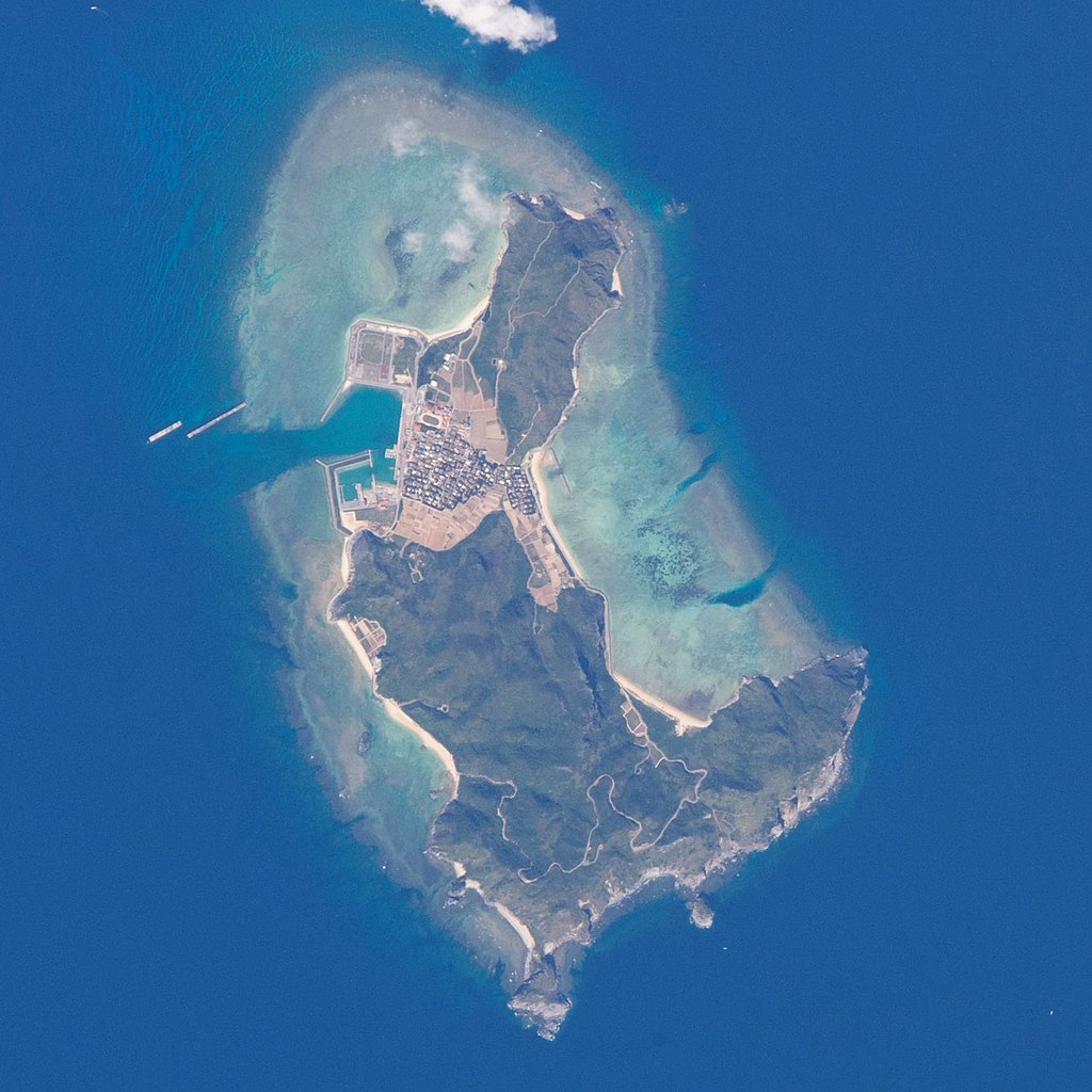Tonaki Island ISS045