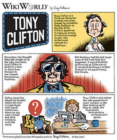 Una vignetta su Tony Clifton