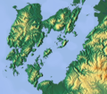 Topographic Map of Amakusa and Nagashima.png