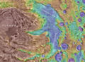 Topographic map of Chasma Australe.png