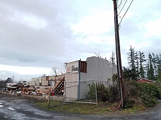 Port Orchard, Washington - Damage from the 2018 tornado