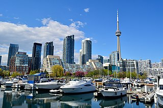 Toronto City in Canada and capital of Ontario