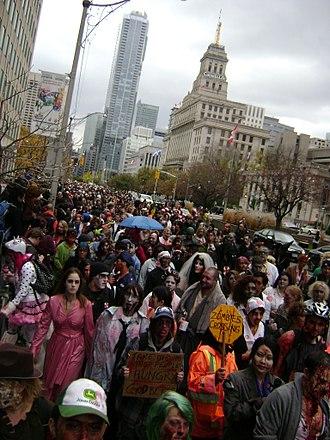 Zombie walk - A 2012 zombie walk in Toronto