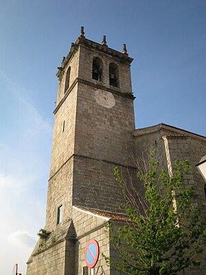 Torre de la iglesia parroquial.