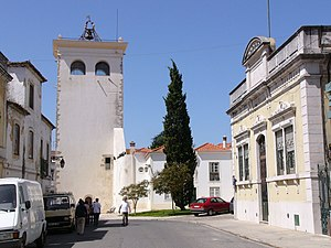 Santarém, Portugal - Cabaças tower, formerly part of the city's fortifications.