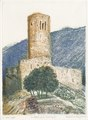 Tower Bâtiaz in Martigny etching 3pl. 31x42cm'84.tif