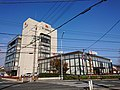 Toyokawa Shinkin Bank headquarters, at Suehiro-dōri, Toyokawa, Aichi (2018-11-30) 01.jpg