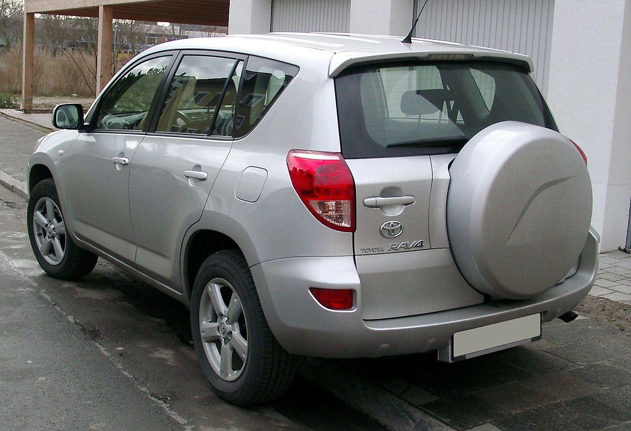 2010 Toyota RAV4 4WD 4-Door 4-cyl 4-Speed AT Ltd