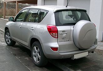 Toyota RAV4 - Toyota RAV4 (Germany; pre-facelift)