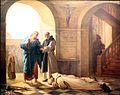 Trappist monks welcoming a stranger by Jules-Joseph Dauban-IMG 6966.JPG