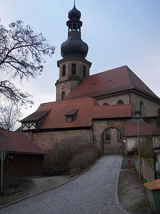 Trebgast - St. Johannes, Church of Trebgast