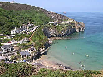 St Agnes, Cornwall - Trevaunance Cove