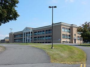 Hegins Township, Schuylkill County, Pennsylvania - Image: Tri Valley High School, Valley View, Schuylkill Co PA