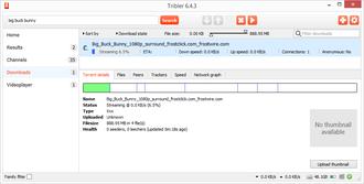 Tribler - Image: Tribler 6.4.3 Downloads