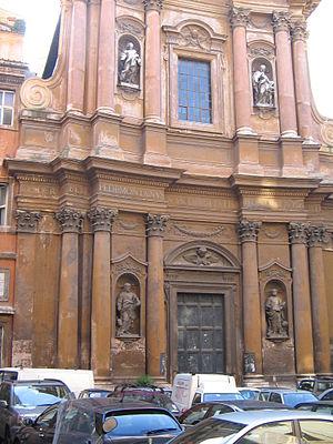 Francesco de Sanctis (architect) - Image: Trinita Pellegrini