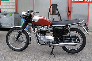 Triumph Bonneville - 1970 US specification Triumph Bonneville T120R with 650cc Unit construction engine
