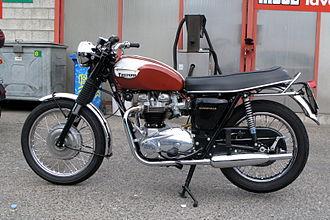 Triumph Bonneville - 1970 US specification Triumph Bonneville T120R with 650cc Unit construction engine