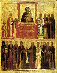 anonymous: Icon of the Triumph of Orthodoxy