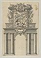 Triumphal arch, from 'Éloges et discours sur la triomphante réception du Roy en sa ville de Paris ...' by Jean-Baptiste de Machault MET DP855543.jpg