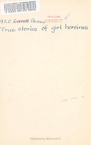 File:True stories of girl heroines.djvu