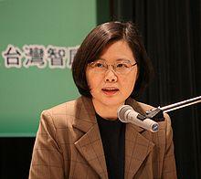 Tsai Ing-wen, presidente della Repubblica di Cina dal 2016