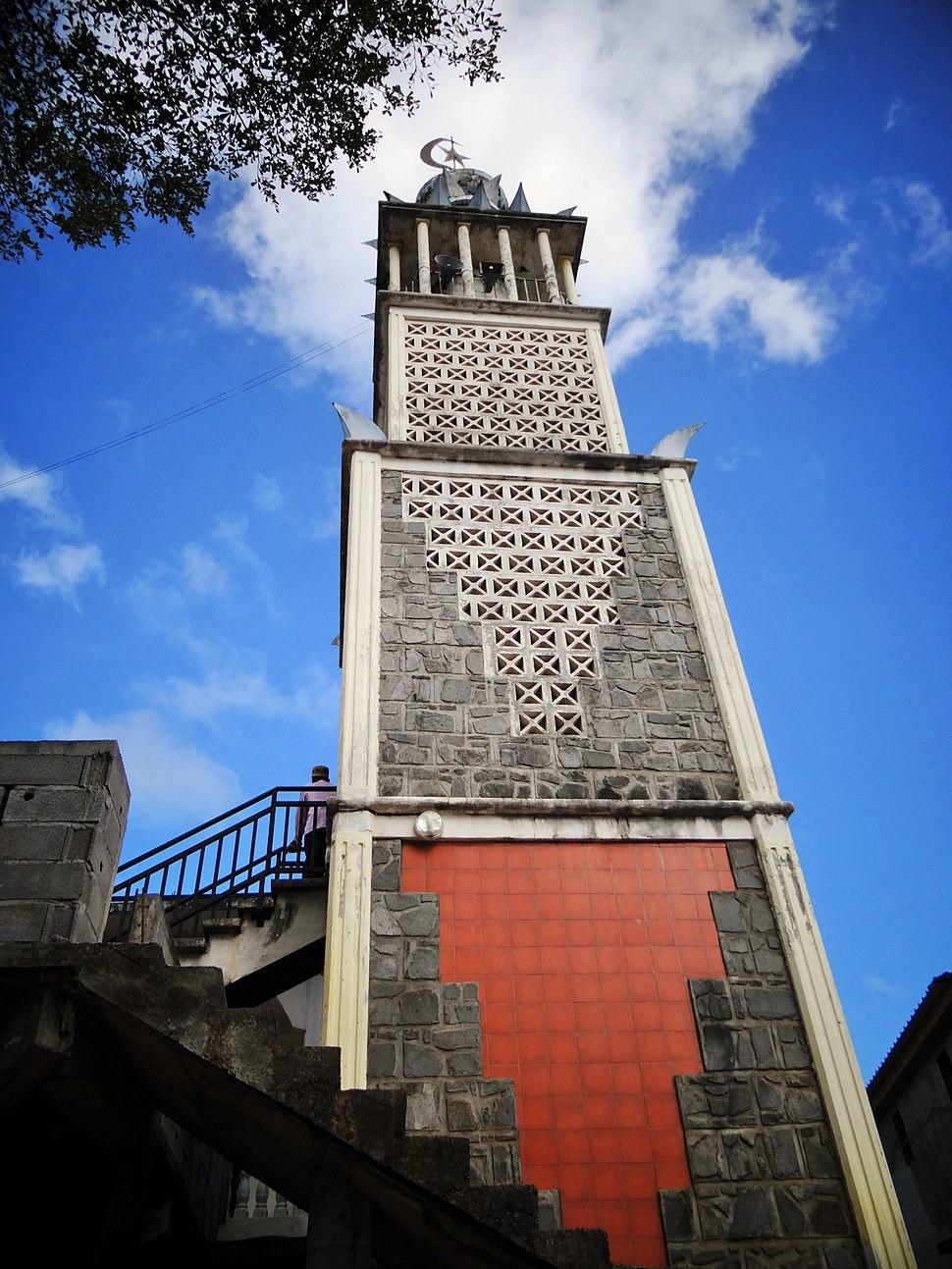 Tsingoni minaret