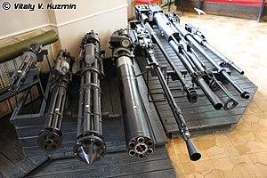Gryazev-Shipunov GSh-6-23 - Image: Tula State Museum of Weapons (79 54)