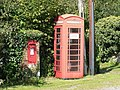 Turnworth, postbox No. DT11 60 and phone - geograph.org.uk - 973040.jpg
