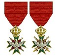 Twee ridderkruisen Eerste Klasse Orde van de Witte Valk Saksen-Weimar-Eisenach.jpg