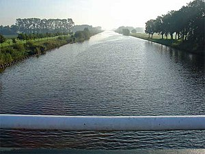 Twentekanaal - Twentekanaal at the Dochterense bridge in the vicinity of Lochem