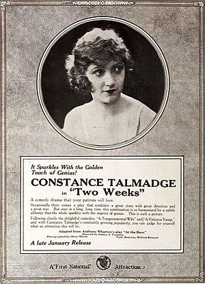 Two Weeks (1920 film) - Image: Two Weeks (1920) 3