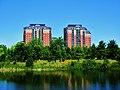 Two apartment buildings in Angrignon park - panoramio.jpg