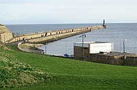 Tynemouth North Pier - geograph.org.uk - 326313