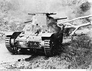 Type 95 Ha-Go tank Malaya AWM 011298