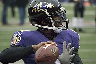 Tyrod Taylor - Taylor in his last season with the Ravens