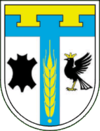 Coat of arms of Tismenicjas rajons