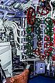 U-Boot 'Wilhelm Bauer' Zentrale mit denVentilen für die Druckluftregulierung (Tannenbaum) Bremerhaven, Museumshafen, (9301188858).jpg