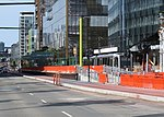 UCSF Mission Bay station from 16th Street, April 2019.JPG