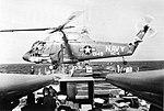 UH-2B Seasprite of HC-4 takes off from USS Newport News (CA-148) in 1966.jpg