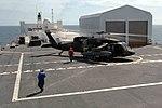 UH-60 Black Hawk lands on USNS Comfort DVIDS186083.jpg