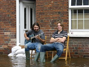 Water under the floorboards, apparently. 2007 ...