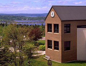University of New Brunswick - View from the UNB Saint John campus.
