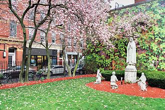 Timeline of Boston - St. Leonard's Church
