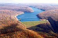 USACE East Branch Clarion River Lake and Dam.jpg
